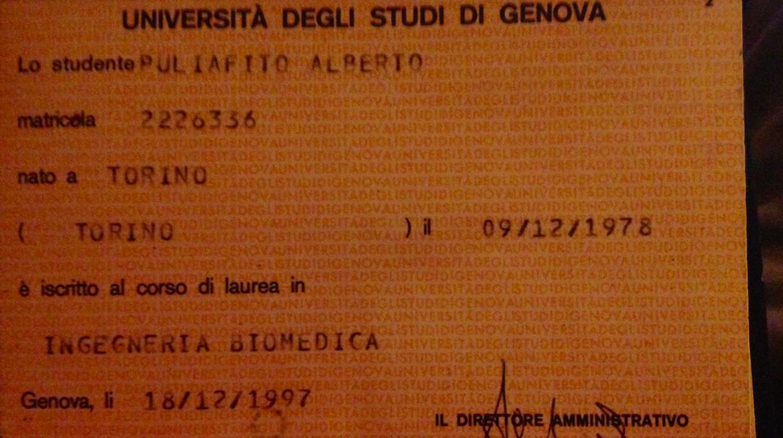 Ritorno all'universita'