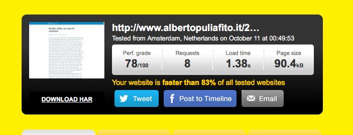 Google AMP Albertopuliafito.it
