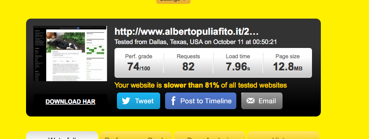 Senza Google AMP Albertopuliafito.it