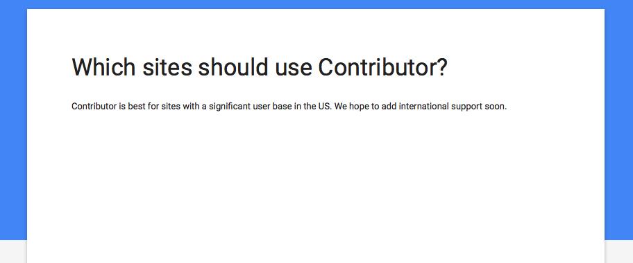 Google Contributor in Italia?