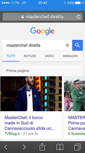 google algoritmo mobile