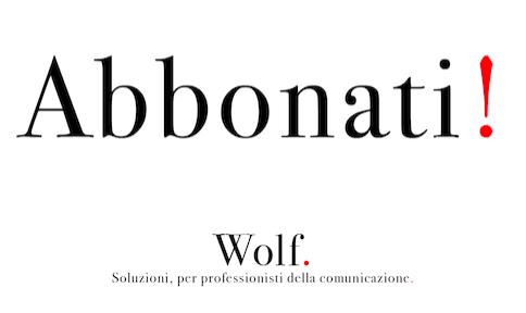 Abbonati a Wolf