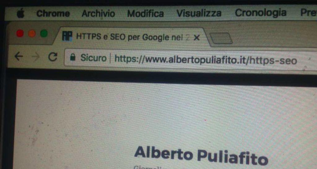 Migrare all'HTTPS è facile